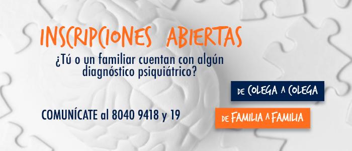 Cursos educativos gratuitos en salud mental para personas con diagnóstico psiquiátrico y sus familias
